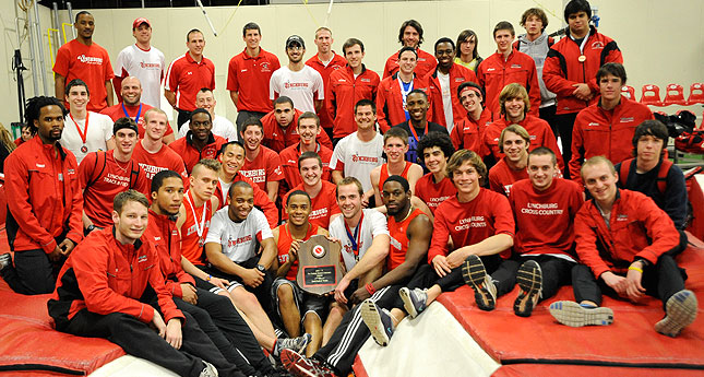Hornet Men win 14th-Straight ODAC Indoor track Title