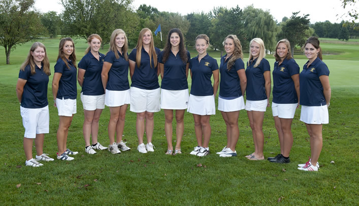 Five Women's Golfers, Coach Honored with All-Conference Awards