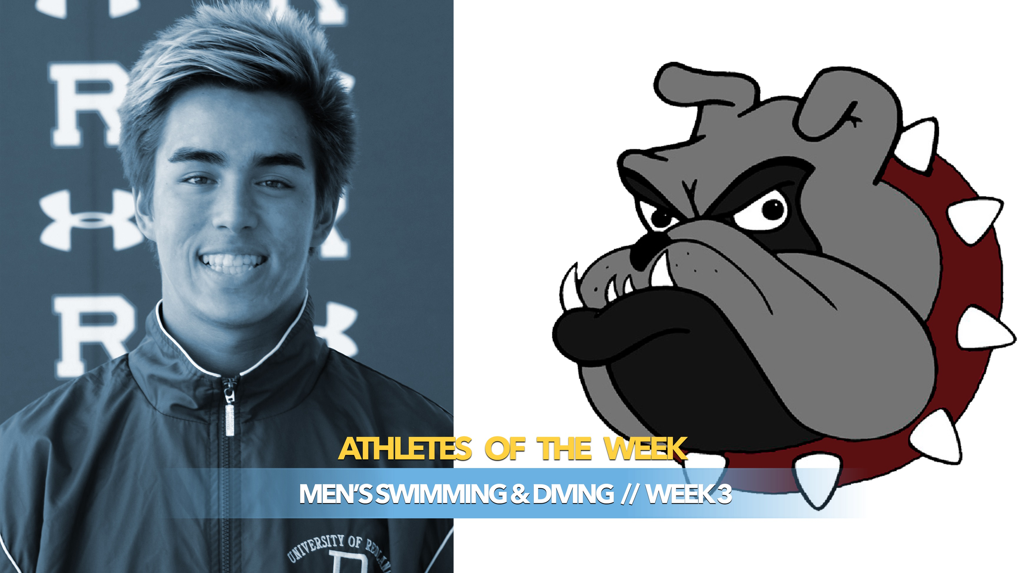 Men's Swimming & Diving Athlete of the Week: November 4, 2019