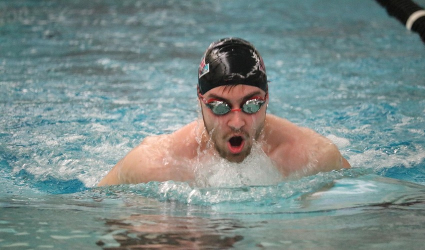 Swimmers Defeat Hiram College in First Home Meet of Season