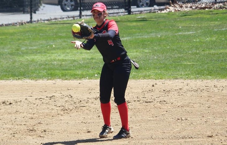 Second-Seeded Softball Edged by Western New England, 2-1, in First-Ever CCC Playoff Home Game