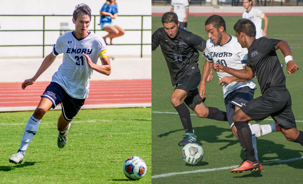 Men's Soccer Garners Four All-UAA Selections; McCartney, Khattab on First Team