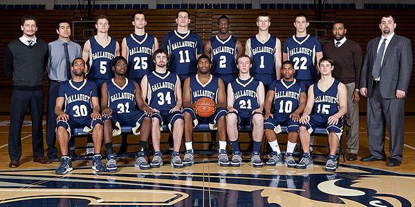 U High Basketball Roster 2010-11 Gallaudet Univ...