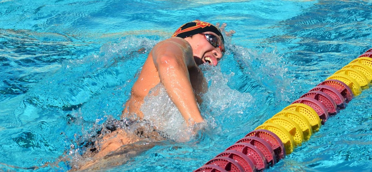 CMS Men's Swimming and Diving Earns Clean Sweep in Road Win over Whittier