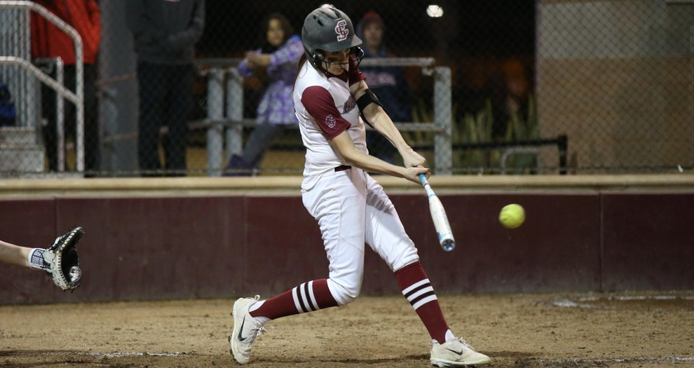 Four Run First Propels Softball Past Weber State