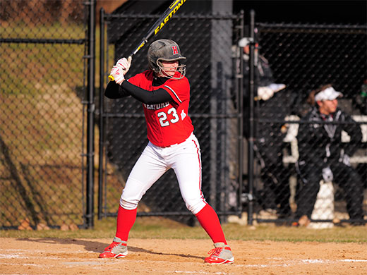 Softball battles Ursinus