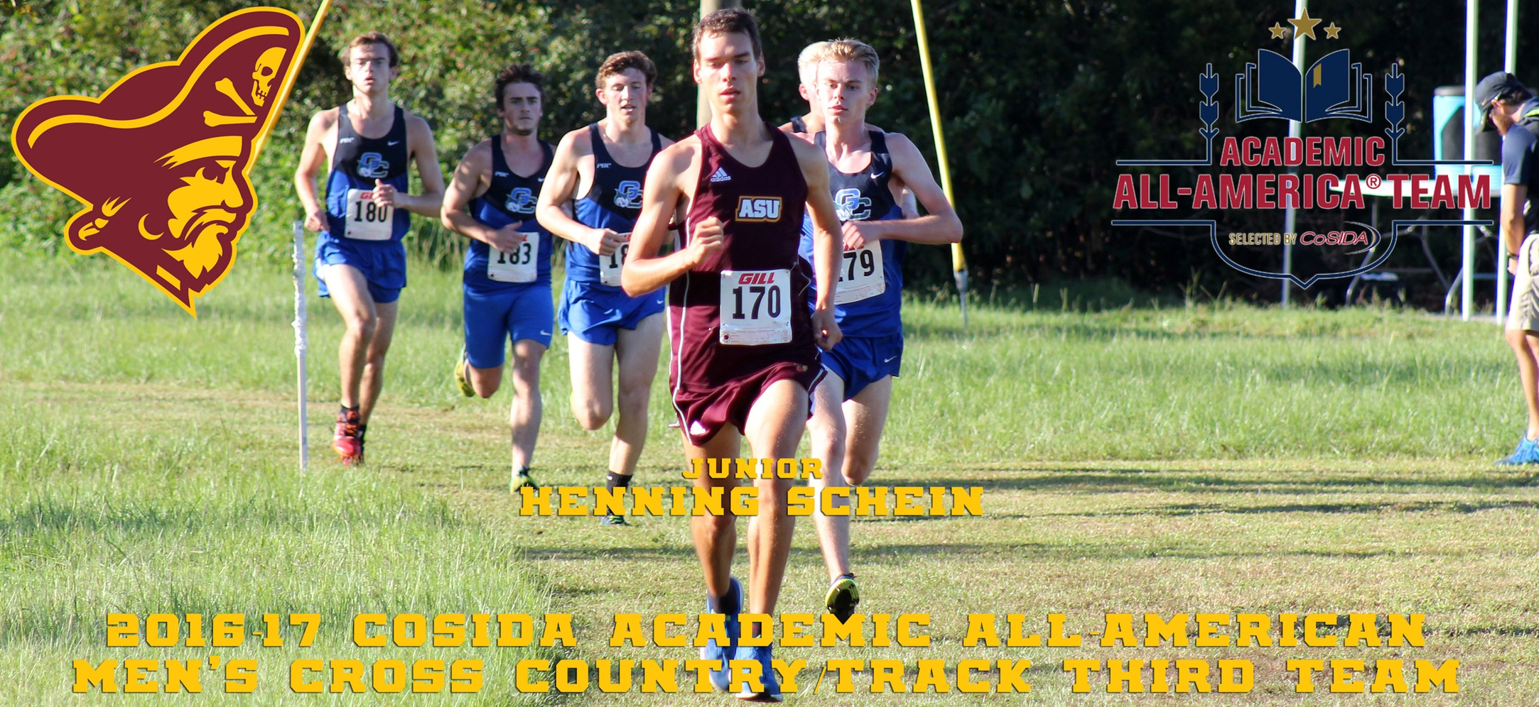 Henning Schein Earns CoSIDA Academic All-America Cross Country Honors