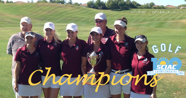 No. 4 U of R Women's Golf Wins Program-First SCIAC Championship and Tournament Title