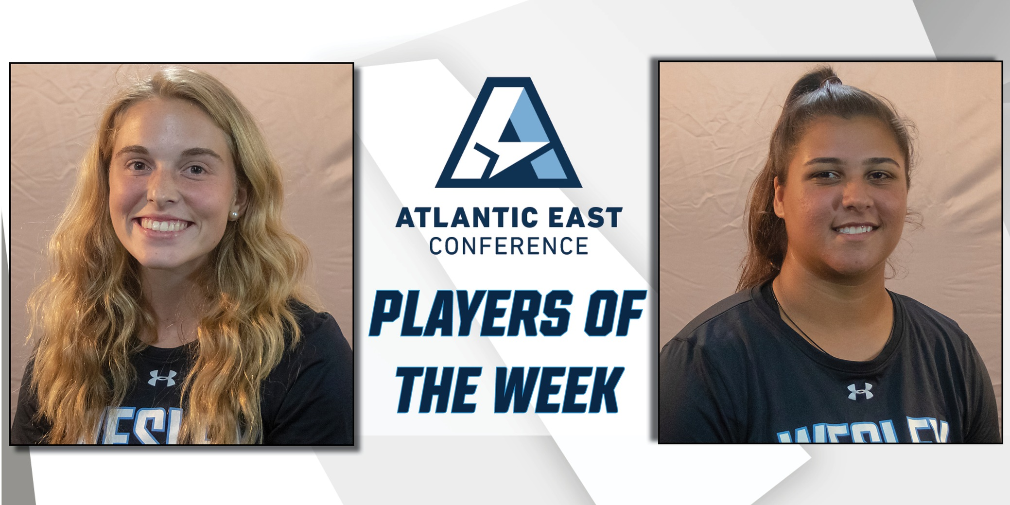 Caldarelli, Fabris earn AEC Player of the Week laurels