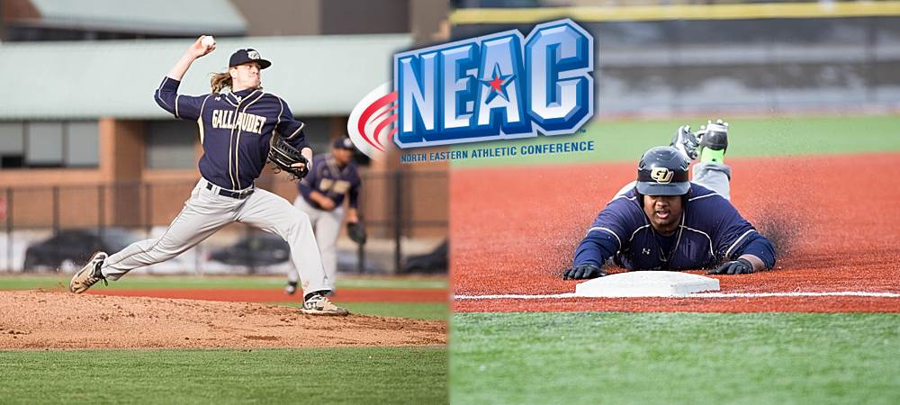 Holsworth, Strong sweep NEAC Baseball Student-Athlete of the Week awards