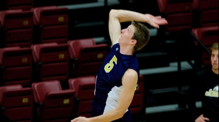 Juniata men's volleyball falls to no. 3 UC-Santa Cruz, 3-2, in CVC semis