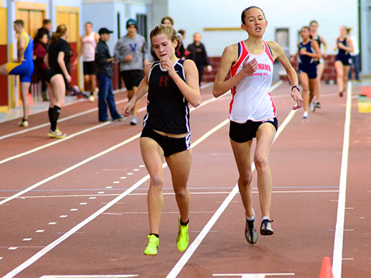 Season continues for women's track at NYU Invite