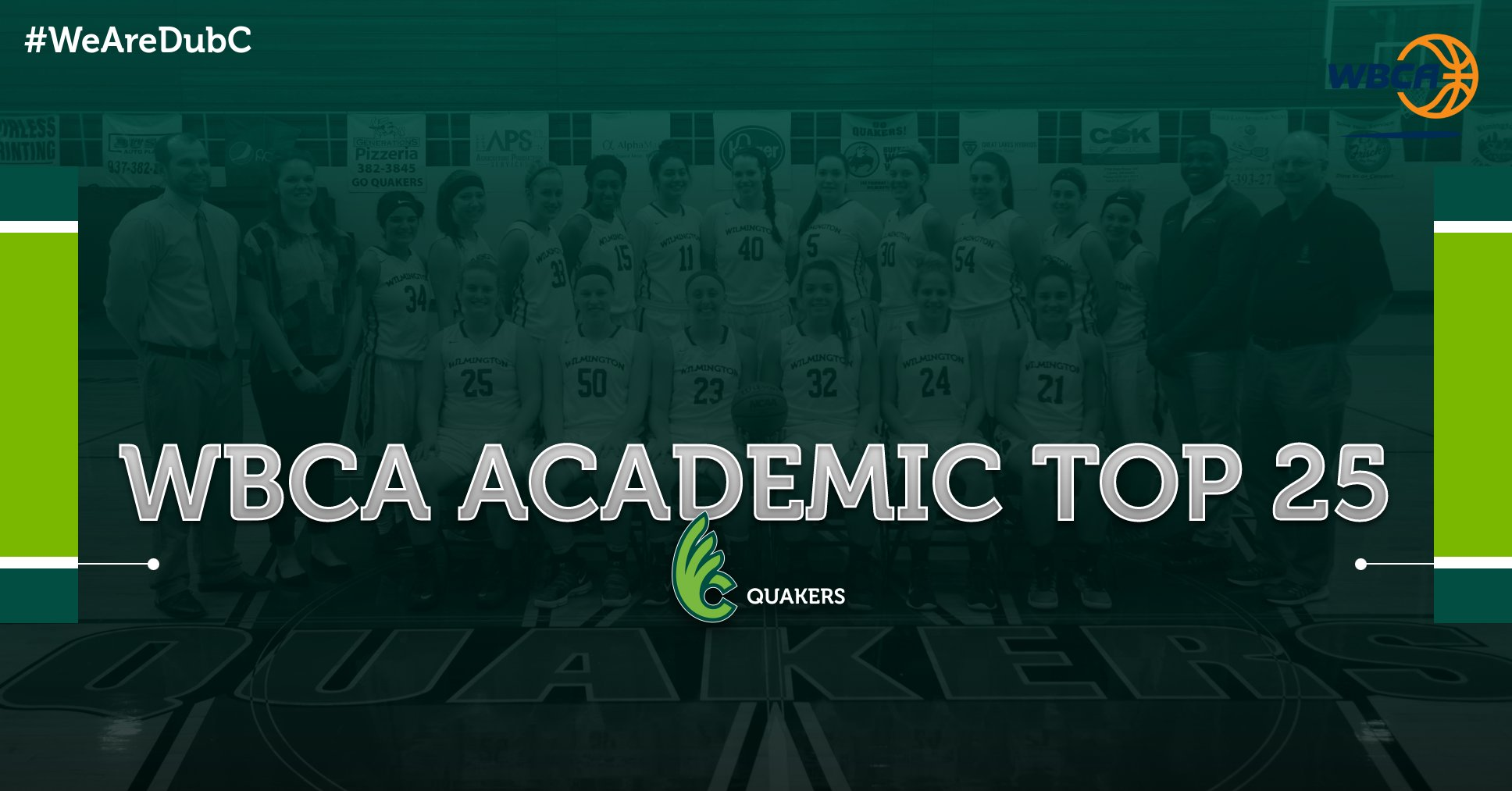 Women's Basketball Earns Spot on WBCA Academic Top 25 Honor Roll