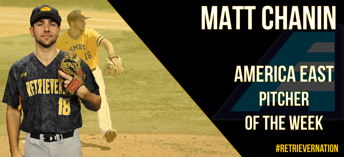 Chanin Named #AEBASE Pitcher of the Week; UMBC Closes Out Non-Conference Play at Georgetown on Tuesday