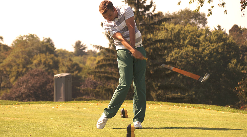 SUNY-Delhi teeing off in men's golf