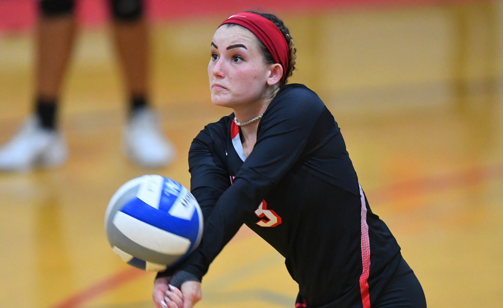 Volleyball Loses Two at NEC