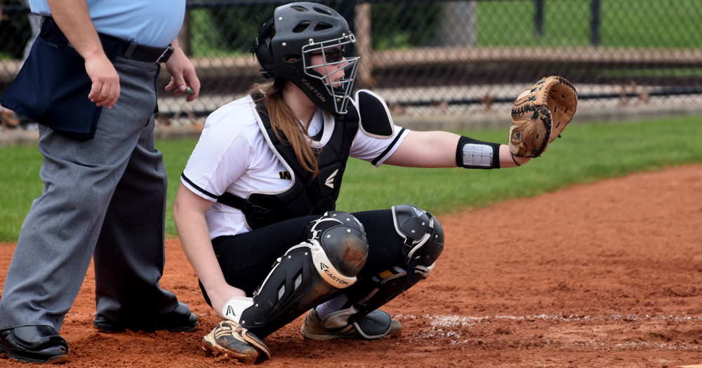 Softball Earns Historic Split with Western New England