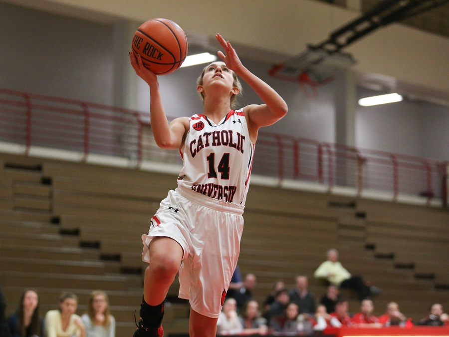 Lady Cardinals Take Down Eagles, 76-56