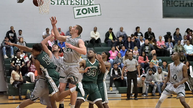 Statesmen Downed By Cape Fear, 88-69