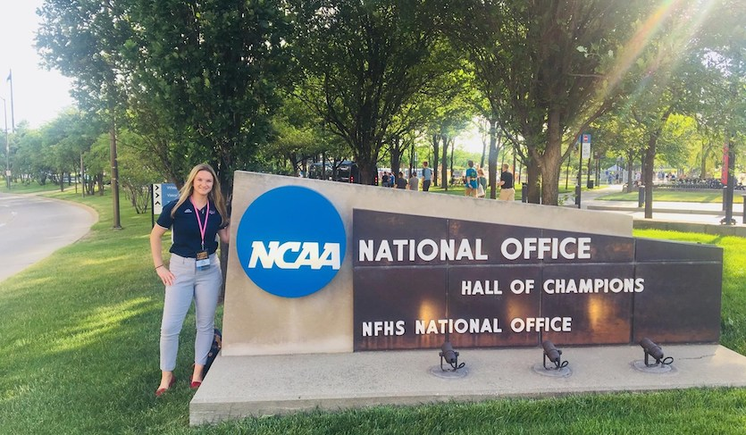 NJIT's Kelly Guarino Participates in NCAA Career in Sports Forum