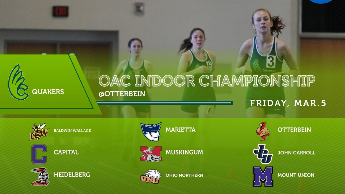 Women's Track & Field Heads to Otterbein for OAC Indoor Championship