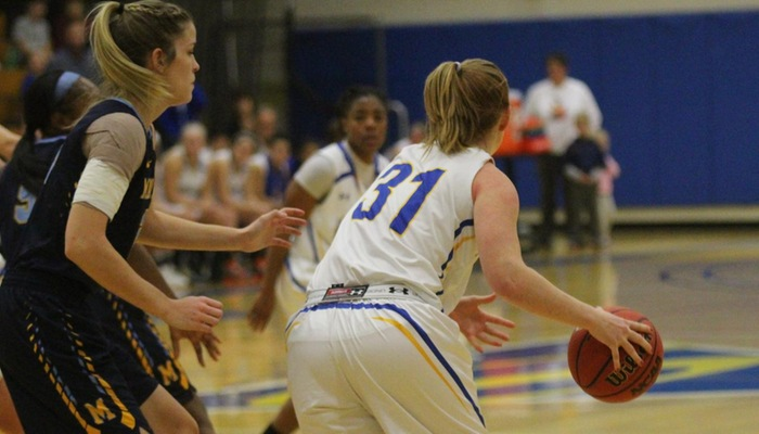Lady Pioneers Race Past Knights