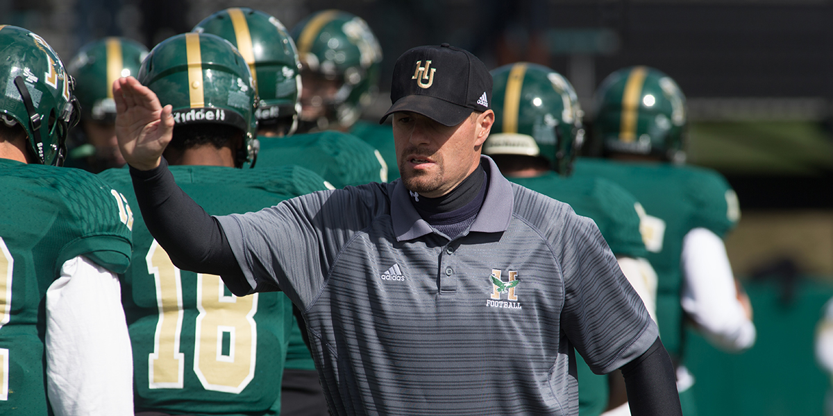 Nate Quirion Returns to Husson as the Running Backs Coach