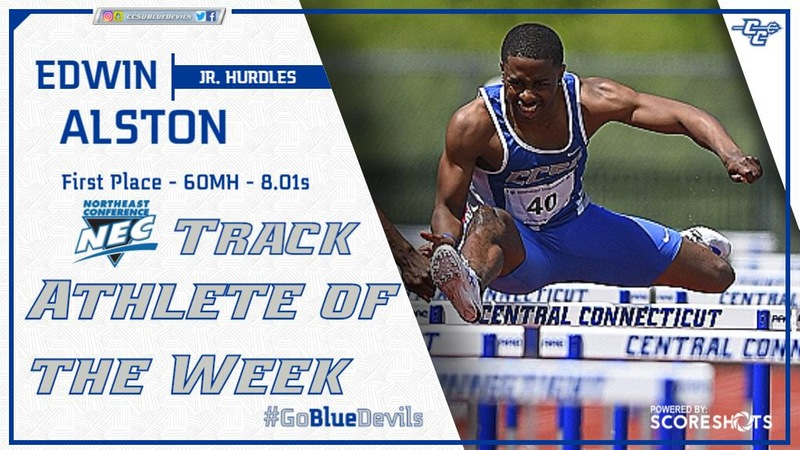 Alston Takes Home NEC Weekly Honor on Tuesday