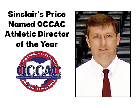 Sinclair's Price Named OCCAC Athletic Director of the Year