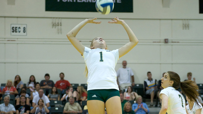 VOLLEYBALL FALLS AT NORTHERN ARIZONA
