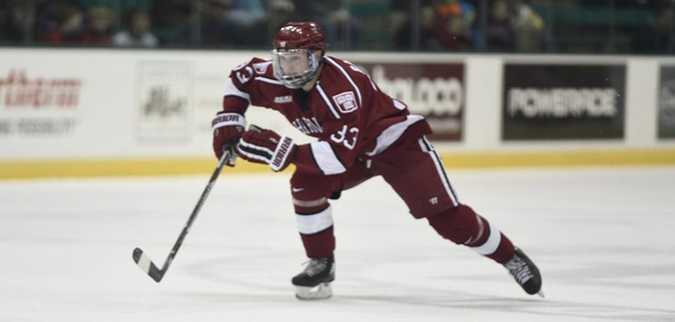 Badini's late game winner lifts Harvard past St. Lawrence