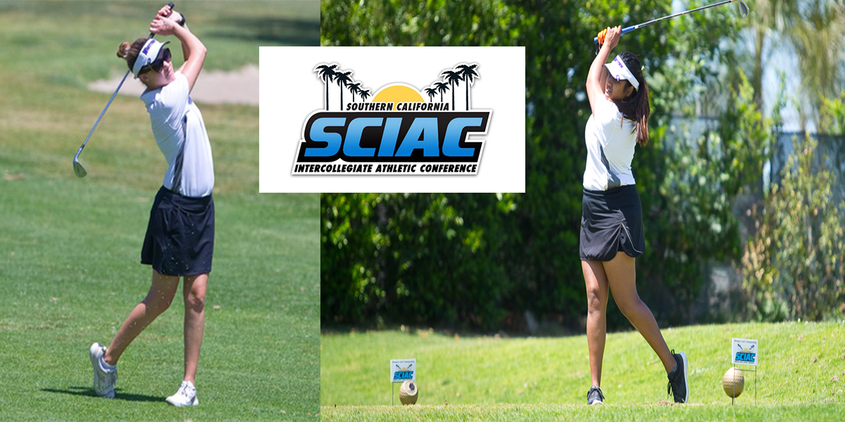 Kajal Vitha and Taylor Beckwith named All-SCIAC