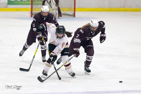 Mounties Blanked by Huskies