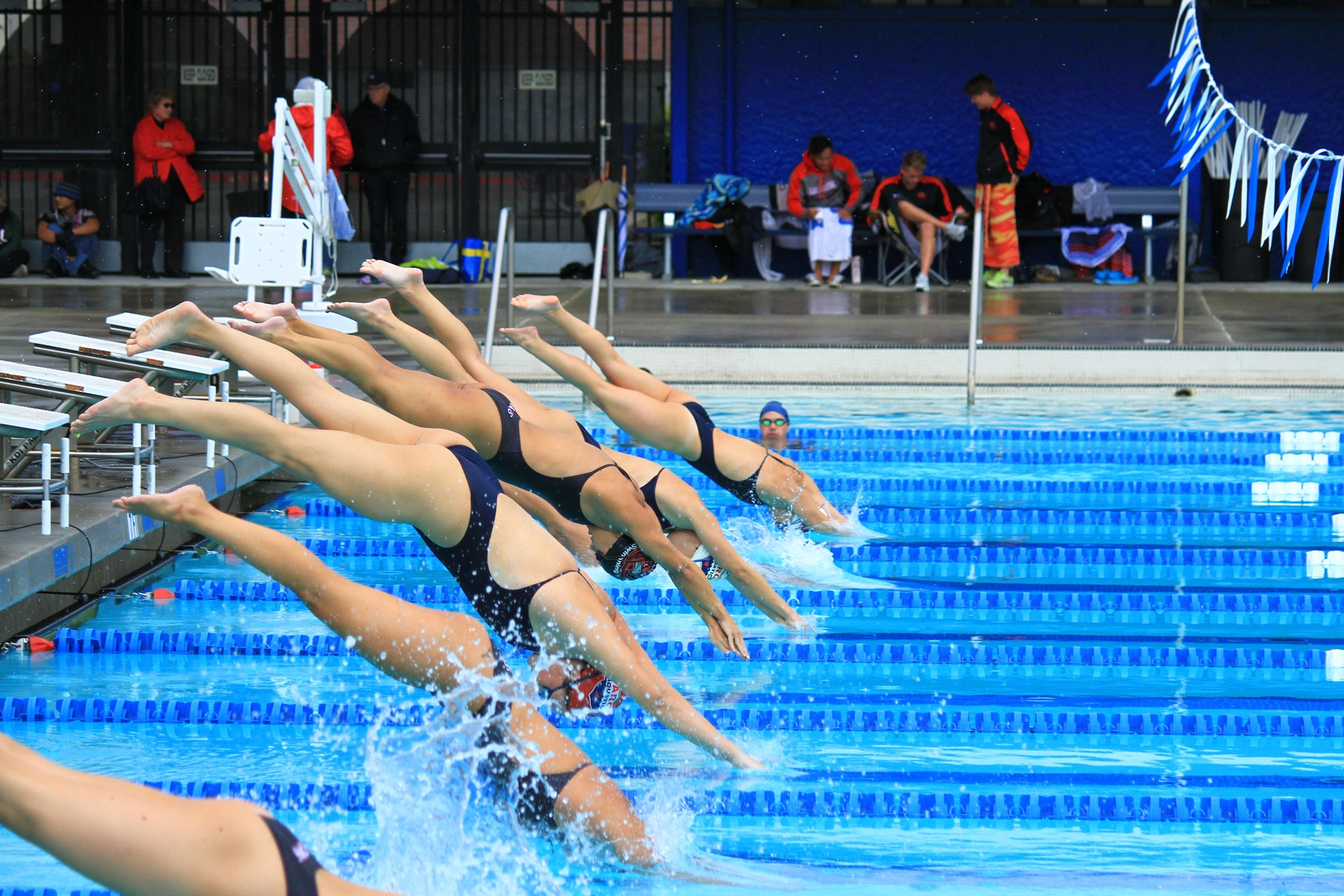 women's swim action picture