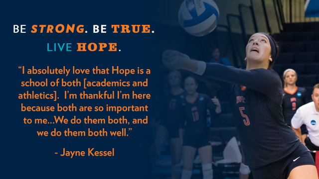 NCAA Division III Week Profile: Volleyball Player Jayne Kessel ...