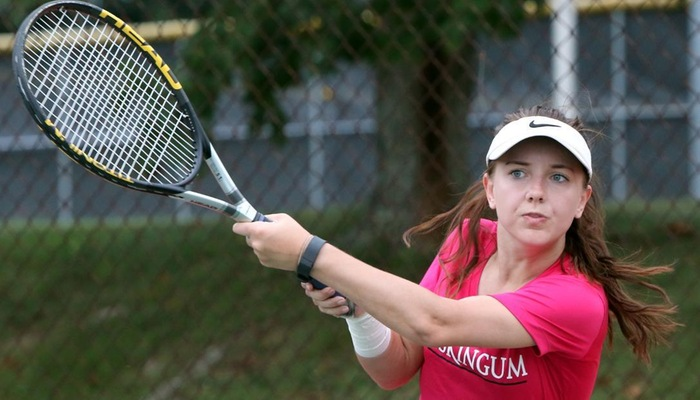 Women's Tennis plays at OAC Spring Fest