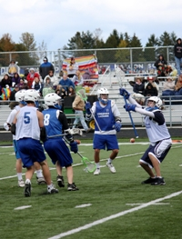Lacrosse exhibition draws rave reviews