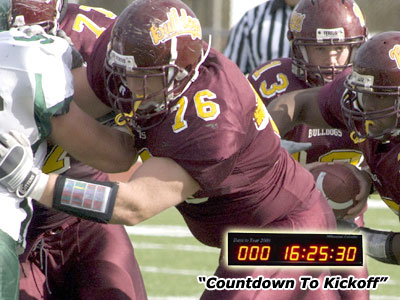 Left Tackle Matt Wellman earned All-GLIAC Honorable Mention kudos in 2008
