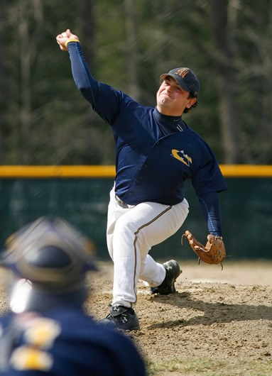 Anthony Bruno '07 was a two time MVP for the Trailblazers playing third base and pitching