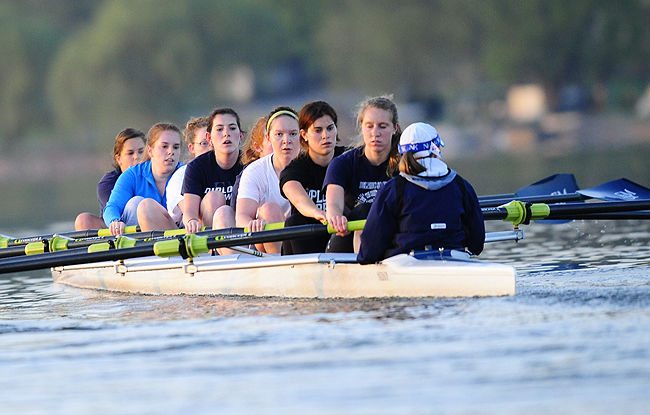 Crew Competes at Mid-Atlantic Rowing Conference Championships