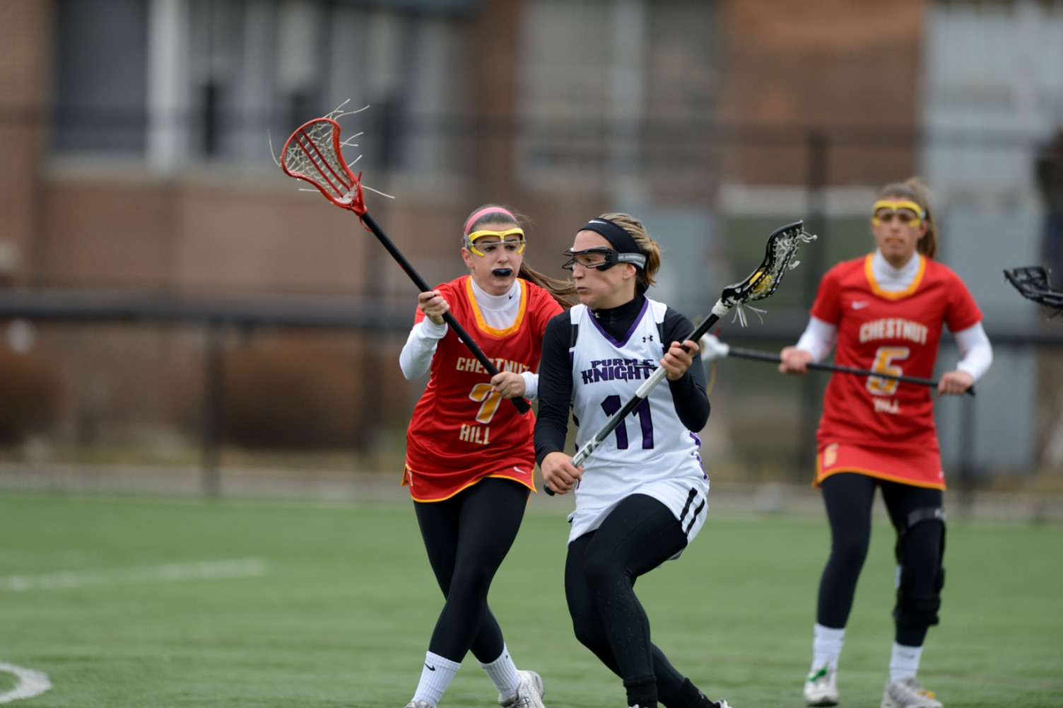 Women's Lacrosse Drops High-Scoring Affair To Nyack, 19-16