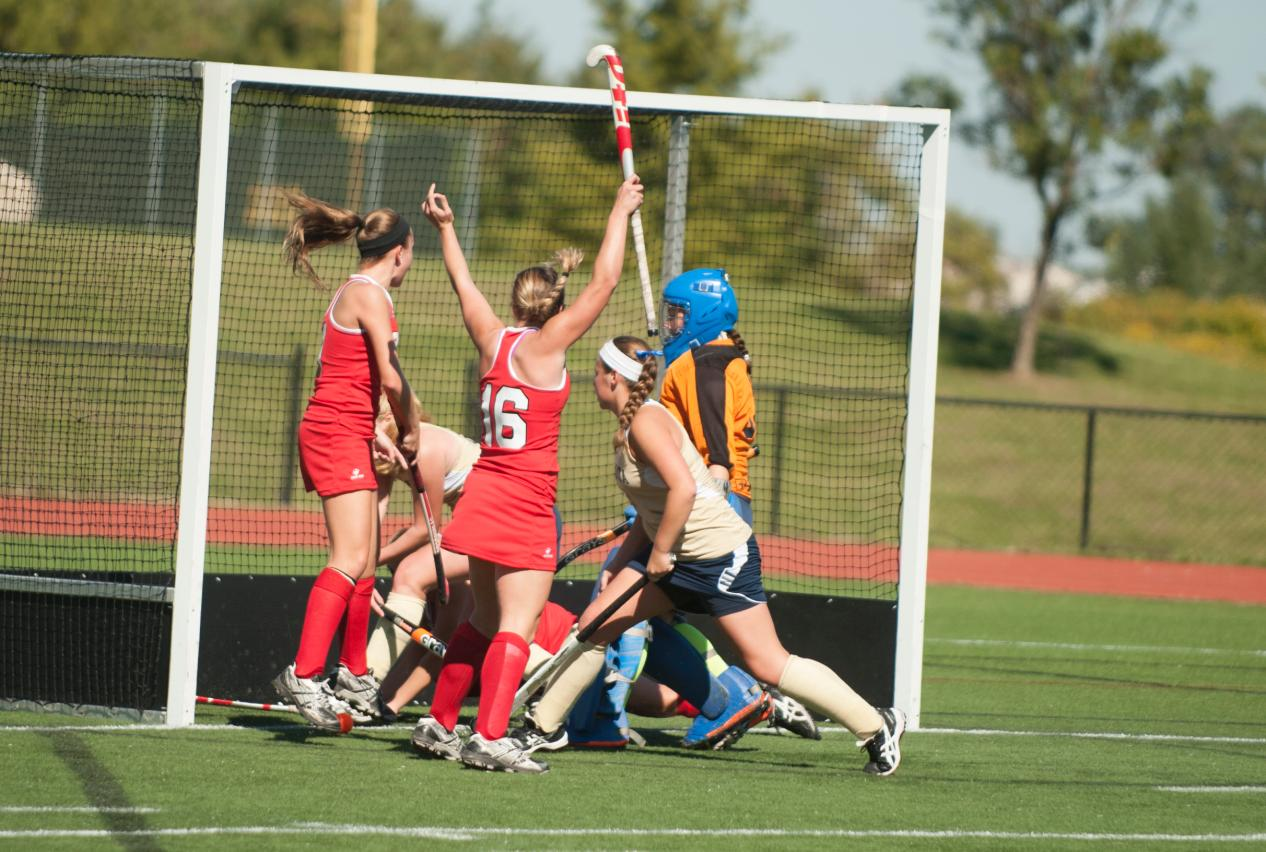 Cards Defeat No. 14 Rowan in Field Hockey Action