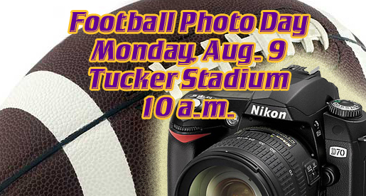 Annual Football Photo Day set for Monday, Aug. 9 in Tucker Stadium