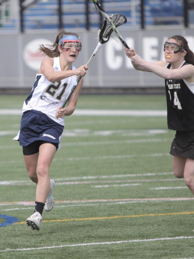 Boyle Nets Five Goals And Seven Points As Women's Lacrosse Opens MASCAC Play With 14-12 Victory Over Framingham State
