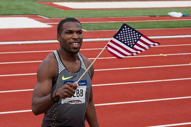 Ameer Webb wins US Championship in the 200 meters