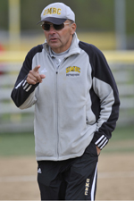 Joe French enters his 11th year at the helm of the softball team.