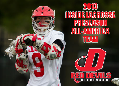 Junior Brian Cannon was one of six Red Devils to earn Inside Lacrosse Preseason All-America honors for #8-ranked Red Devils<BR>