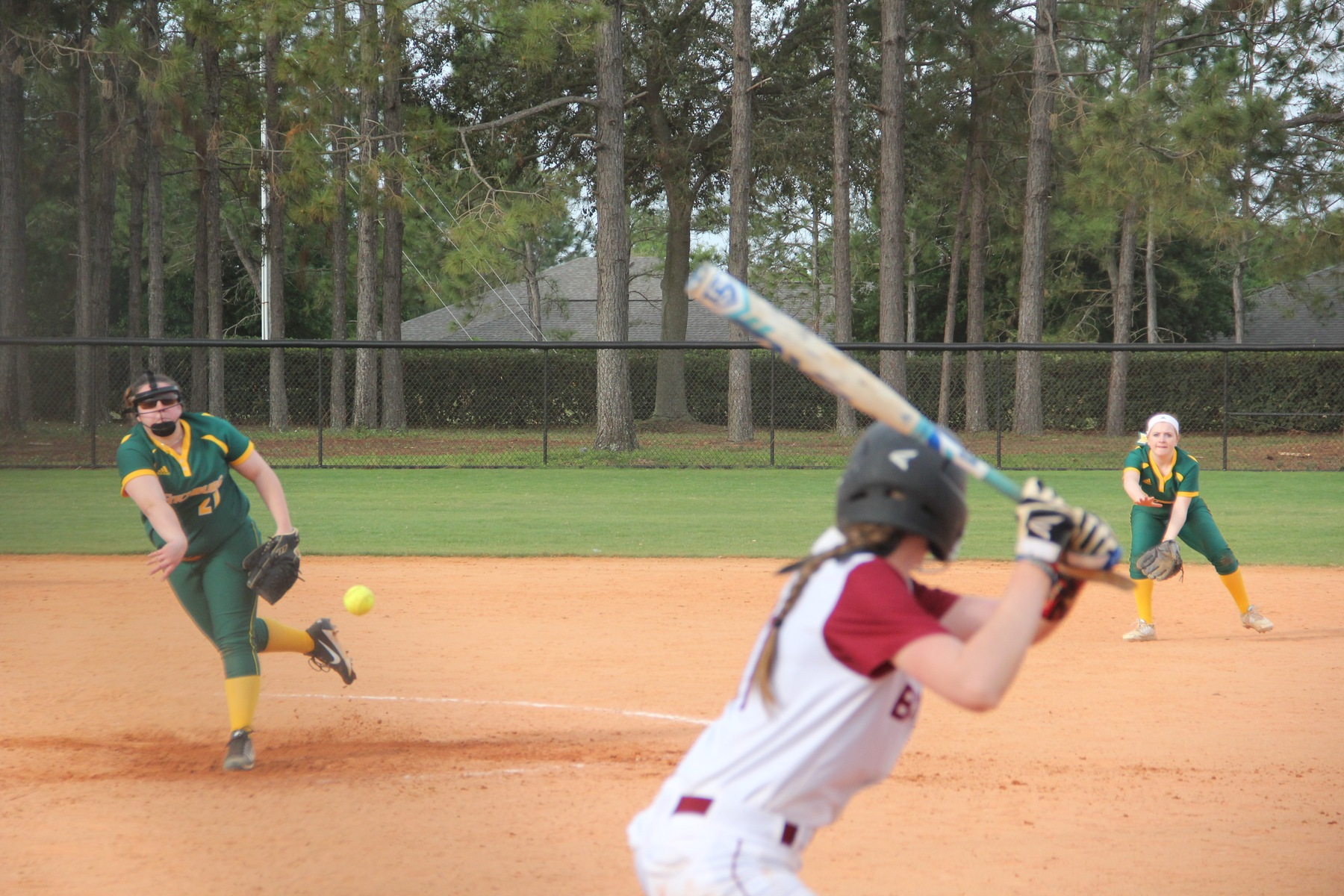 Softball Drops Pair on Day One