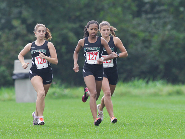 Storm XC Teams Open Season at Walsh Race