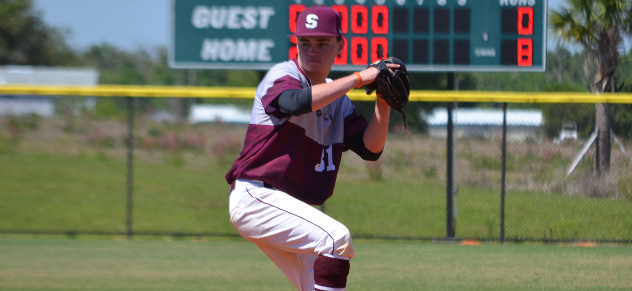 Baseball Splits Doubleheader with Farmingdale State in Florida
